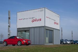 AUDI Verkaufspavillon für Gebrauchtwagen